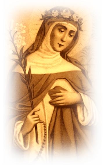 Altes Bild von Hildegard von Bingen